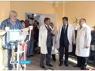Мэр Воронежа побывал с инспекцией в одной из городских больниц