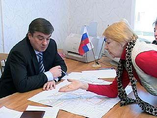 Мэр Воронежа встретился с жителями Советского района