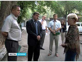 Мэр Воронежа встретился с жителями Центрального района