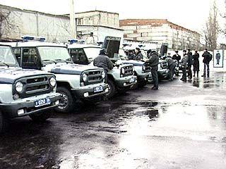 Мэрия подарила милиционерам новые автомобили
