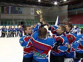 Международный детский турнир по хоккею финишировал в Воронеже