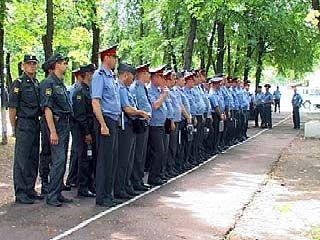 Милиционеры из 82 регионов провели показательные выступления в Воронеже