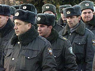 Милиционеры отчитывались о проделанной работе в центре Воронежа