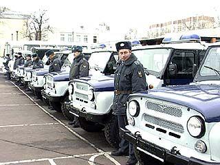 Милиционеры получили ключи от новых машин