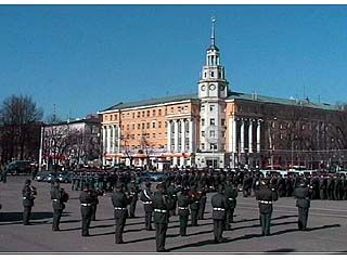 Милиционеры Воронежа вновь соберутся на площади Ленина