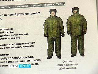 Министерство обороны: солдаты мёрзнут, потому что не умеют носить новую форму