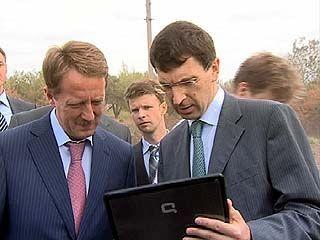 Министр связи Игорь Щеголев проинспектировал работу веб-камеры в селе Хреновое
