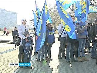 Митинг либерал-демократов в День народного единства поддержали школьники