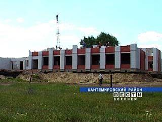 Митрофановские ученики ждут завершения строительства новой школы