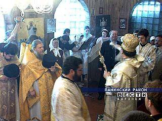 Митрополит освятил храм имени цесаревича Алексея