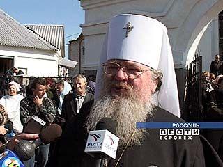 Митрополит Сергий посетил Россошь