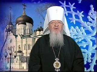 Митрополит Сергий поздравил православных воронежцев с Рождеством