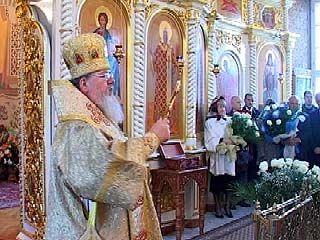 Митрополит Сергий принимал поздравления с тезоименитством