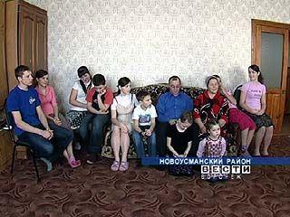 Многодетная семья Шишкиных не может справиться с бытовыми трудностями