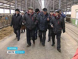 Молочное производство Воронежского региона проинспектировал Константин Чуйченко