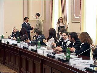 Молодежное правительство области провело свое первое заседание