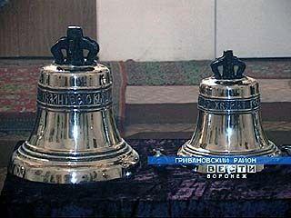 Монастырь Серафима Саровского получил в подарок 5 колоколов