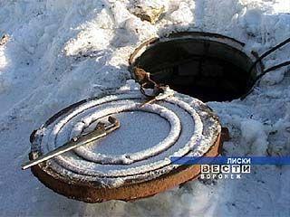 Морозы и грунтовые воды стали причиной перерыва водоснабжения в Лисках