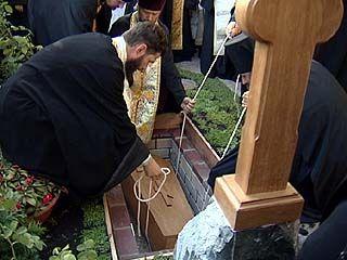 Мощи блаженной Феоктисты вернули в Алексиево-Акатов женский монастырь