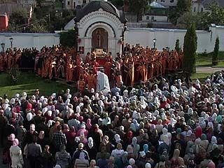 Мощи священномученика Петра доставлены в Воронеж