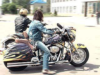 Московские байкеры посетили Воронеж