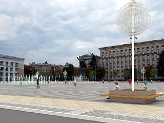 Московские дизайнеры полгода придумывали столице Черноземья новый облик