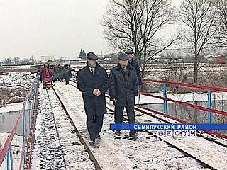 Мост через реку Ведуга стал подарком жителям Красного Кута