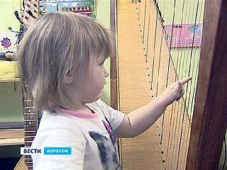 Музыка арфы для воронежских малышей - почти как тихий час