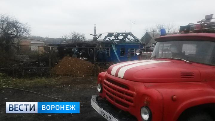 Младшему из погибших на пожаре в Воронежской области детей было всего 3 месяца