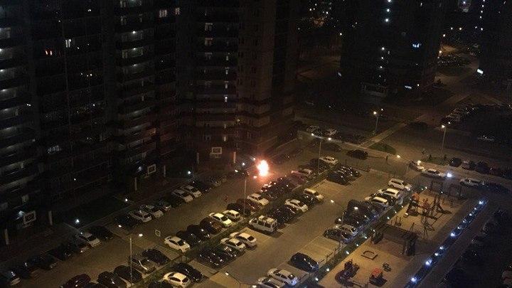Полиция возбудила дела о поджогах в Воронеже в ЖК «Олимпийский» и на улице Ломоносова