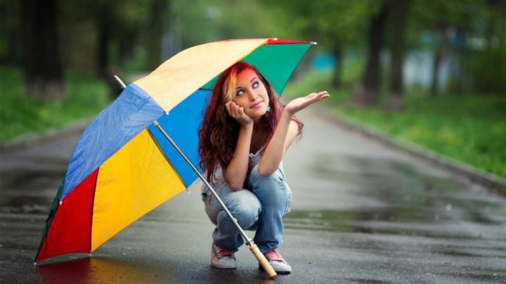 Жителей Воронежской области на этой неделе ожидают тёплая погода и дожди