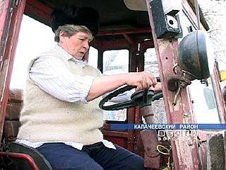 На 50-тилетии освоения целины присутствовала механизатор Воронежской области