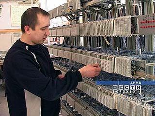 На АТС поселка Анна внедряют цифровые технологии
