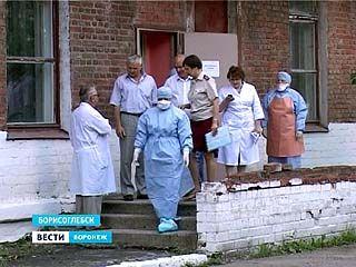 На базе Борисоглебской ЦРБ прошли учения