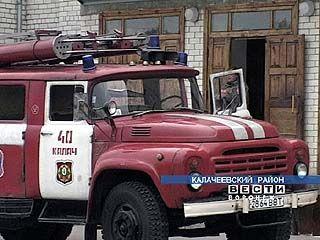На базе сельской школы спасатели провели учения