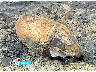 На Беговой обнаружили снаряд времен Великой Отечественной