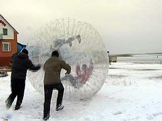 На берегу реки Воронеж прошло зимнее троеборье