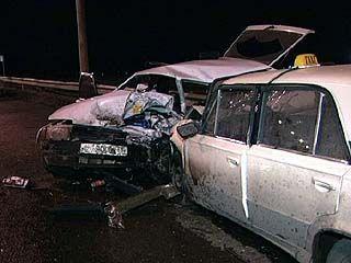 На Чернавском мосту произошла авария