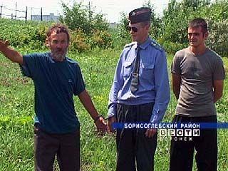 На дачных участках Борисоглебска совершено убийство