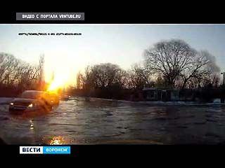 На две недели перекроют движение на дороге вдоль реки Песчанка
