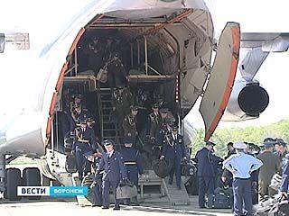 На главном параде страны Воронеж представляли 4 расчета ВВС