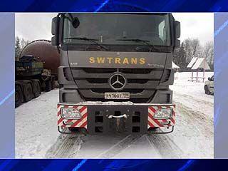 На границе Вологодской и Ярославской областей задержали два тягача с грузом для НВАЭС-2