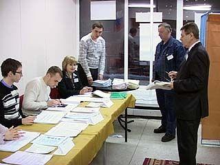 На избирательные участки пришли 56% жителей Воронежской области