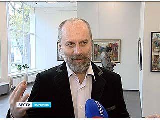 На Кирова открылась персональная выставка Александра Ворошилина