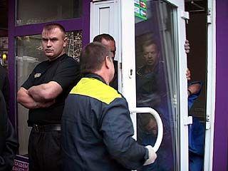 На Кольцовской начался демонтаж павильонов