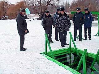 На Крещение в Воронеже подготовили шесть специальных купелей
