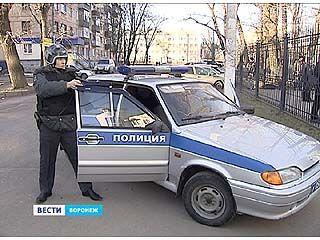 На левом берегу Воронежа прошли учения полиции