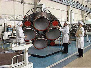 На механическом заводе начаты испытания новых ракетных двигателей