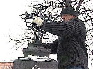На могиле Кольцова восстановили крест