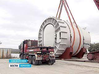 На НВАЭС-2 доставили транспортный шлюз первого энергоблока